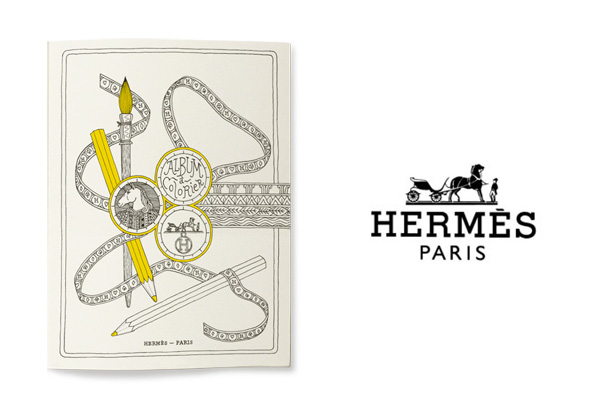 Hermes Coloring Book