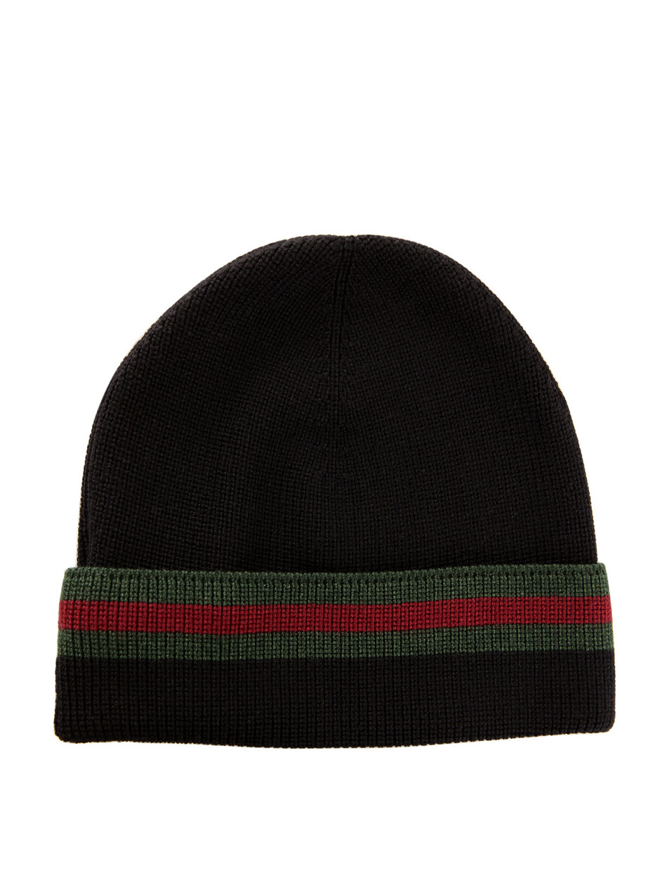 Gucci Wool And Silk Beanie Hat Spring 2011 The Super