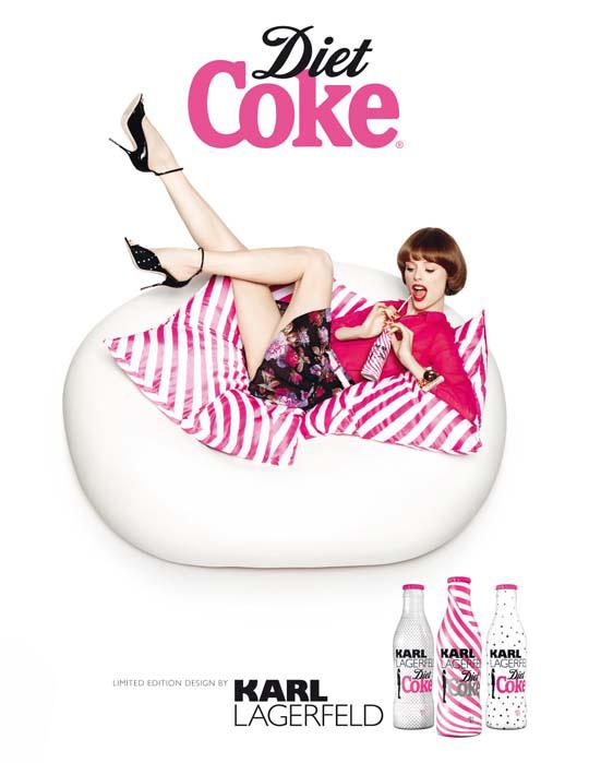 karl lagerfeld diet coke. Karl Lagerfeld Diet Coke 2011