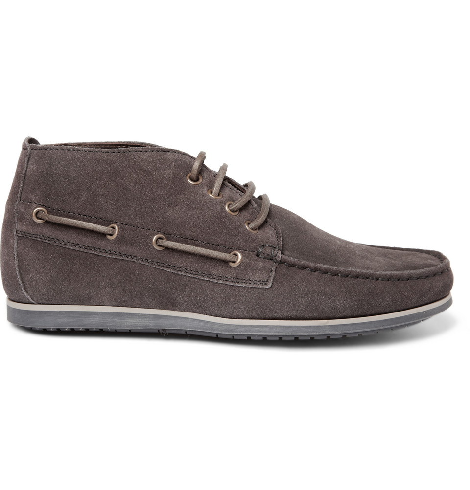 lanvin suede chukka boots the fresh