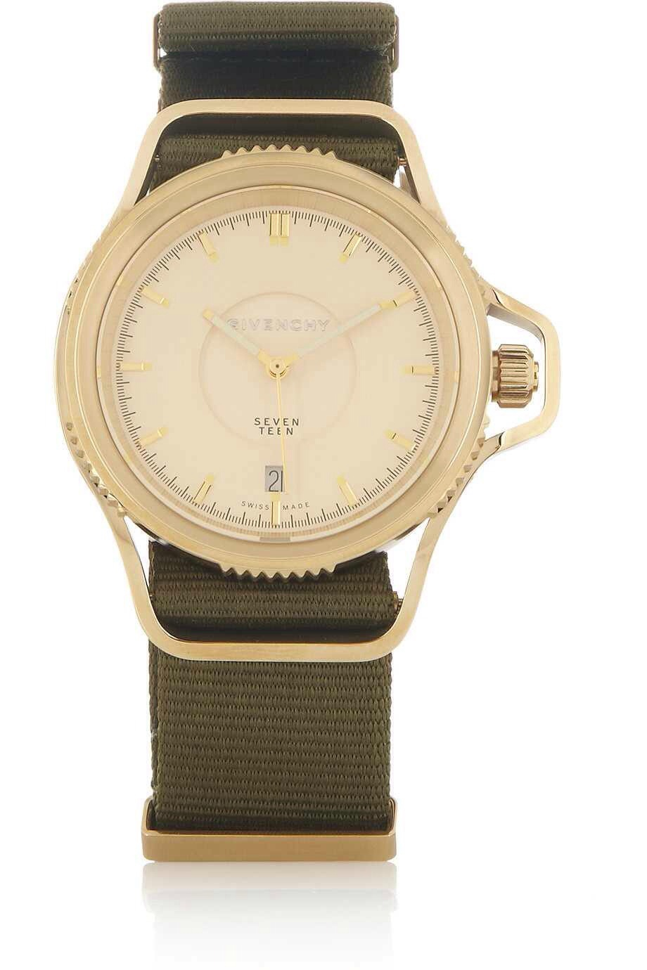 Givenchy seventeen watch in gold pvd plated stainless steel the super fresh kids for Givenchy watches