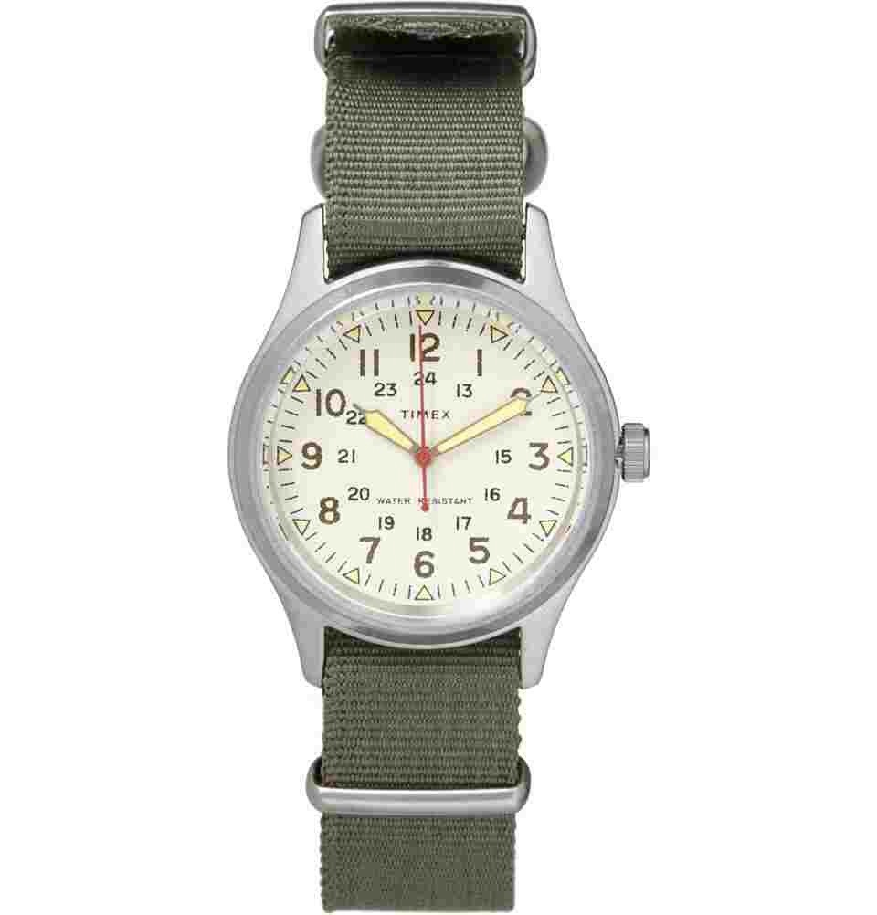 timex jcrew timex �vintage army steel watch� the