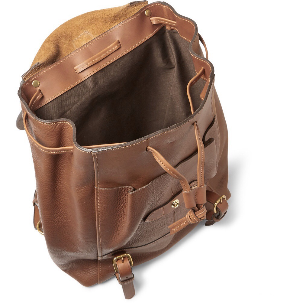 bill amberg hunter grained leather backpack the super fresh kids. Black Bedroom Furniture Sets. Home Design Ideas